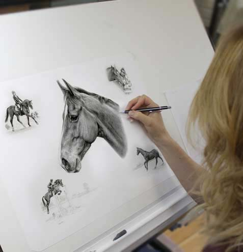 Horse Pet Portraits Melanie Phillips